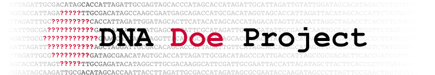 DNA Doe Project Cases